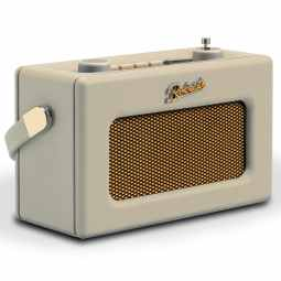 Roberts Revival UNO Compact DAB+/FM Radio with & Alarm - Pastel Cream