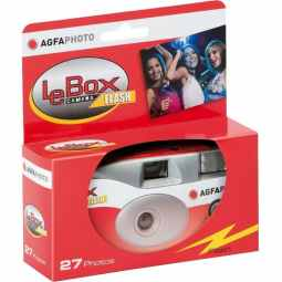 AGFA LeBox Disposable Camera with Flash 27exp