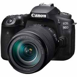Canon EOS 90D DSLR Camera with 18-135mm IS USM