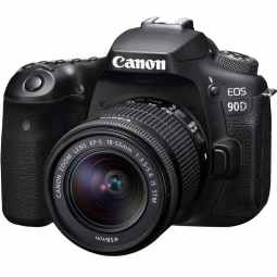 Canon EOS 90D DSLR Camera with 18-55 IS STM