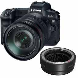 Canon EOS R + RF 24-105mm F/4L + EF Mount Adapter