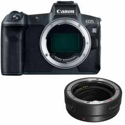 Canon EOS R Full Frame Mirrorless Camera + EF Mount Adapter