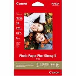 Canon PP-201 Glossy II Photo Paper Plus 5x7