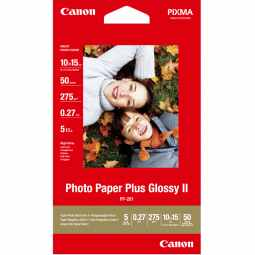 Canon PP-201 Glossy II Photo Paper Plus 4x6