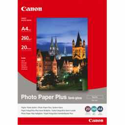 Canon SG-201 Semi-Gloss Photo Paper Plus A4 - 20 Sheets