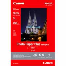 Canon SG-201 Semi-Gloss Photo Paper Plus 4x6