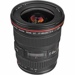 Canon EF 17-40mm f/4L USM Wide Lens