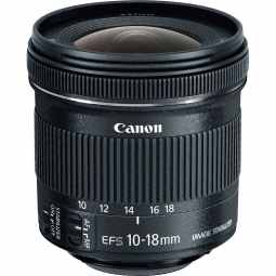 Canon EF-S 10-18mm f/4.5-5.6 IS STM Wide Lens