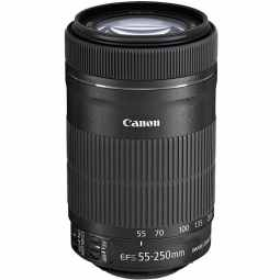 Canon EF-S 55-250mm f/4-5.6 IS STM Telephoto Lens