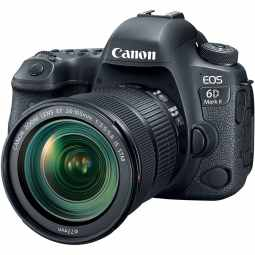 Canon EOS 6D Mk II Full Frame DSLR with EF 24-105mm f/3.5-5.6 IS STM Lens