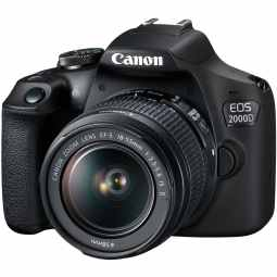 Canon EOS 2000D DSLR Camera with 18-55mm IS II
