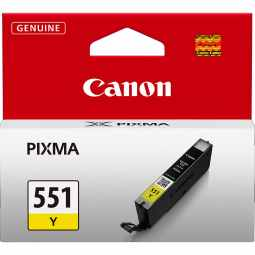 Canon CLI-551Y Yellow Ink Cartridge