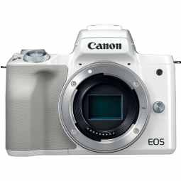 Canon EOS M50 Body - Mirrorless Camera (White)