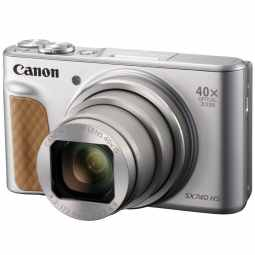 Canon PowerShot SX740 HS 40x Zoom Compact (Silver)