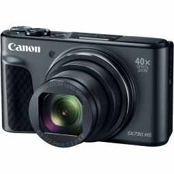 Canon PowerShot SX730 HS 40x Zoom Camera (Black)