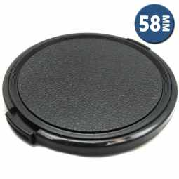 Clubman Snap-on Lens Cap 58mm