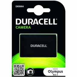 Duracell Olympus BLS-5 Battery - Fits PEN & OM-D