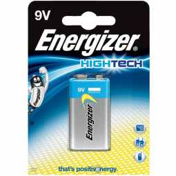 Energizer Hightech 9v Smoke Alarm Battery