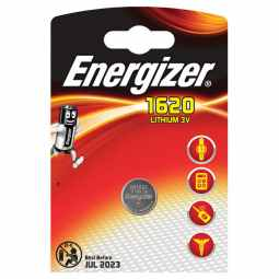 Energizer CR1620 3v Lithium Battery