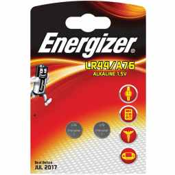 Energizer LR44/A76 1.5v Alkaline Battery (Twin Pack)