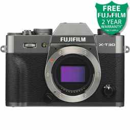 Fujifilm X-T30 Mirrorless Digital Camera Body (Charcoal Grey)