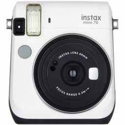 Fujifilm Instax Mini 70 + 10 Shots (Moon White)