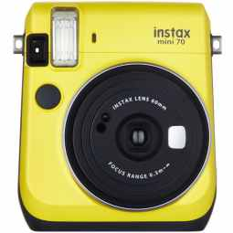 Fujifilm Instax Mini 70 + 10 Shots (Canary Yellow)