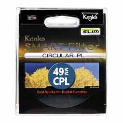 Kenko 49mm Smart Filter Circular Polarizing SLIM