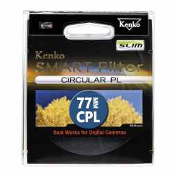 Kenko 77mm Smart Filter Circular Polarizing SLIM