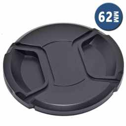 Lens Cap with Centre Grip and retaining cord | 62mm