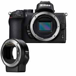 Nikon Z50 + FTZ Adapter | 20.9MP DX  Mirrorless Camera