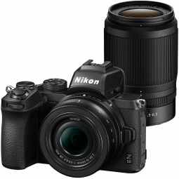 Nikon Z50 Twin Lens Kit | 20.9MP DX  Mirrorless Camera