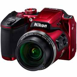 Nikon COOLPIX B500 40x Zoom Bridge Camera (Plum)