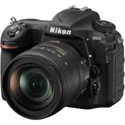 Nikon D500 DSLR Camera with AF-S DX 16-80 VR Lens