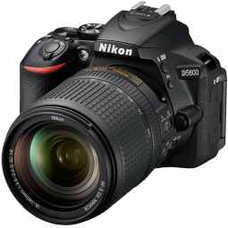 Nikon D5600 DSLR with 18-140mm ED VR (Black)