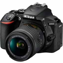Nikon D5600 DSLR with 18-55mm AF-P VR (Black)