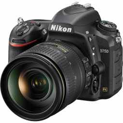 Nikon D750 Full Frame DSLR with 24-120mm f/4 VR