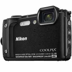 Nikon COOLPIX W300 Waterproof Camera (Black)