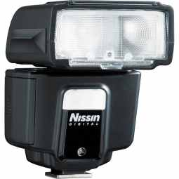 Nissin i40 Award Winning Flashgun with Video Light (Fujifilm)