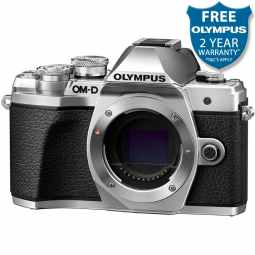 Olympus OM-D E-M10 MK3 Mirrorless Camera Body (Silver)