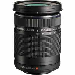 Olympus M.ZUIKO Digital ED 40-150mm f/4-5.6 R (black) Telephoto Zoom Lens