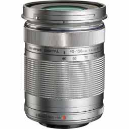 Olympus M.ZUIKO Digital ED 40-150mm f/4-5.6 R (silver) Telephoto Zoom Lens