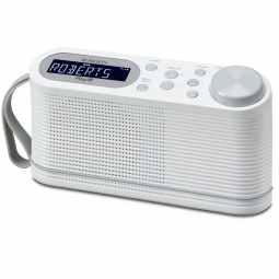 Roberts Play 10 Portable Digital DAB & FM Radio (White)