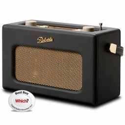 Roberts Revival RD70 DAB+/FM Radio with Bluetooth & Alarm - Black