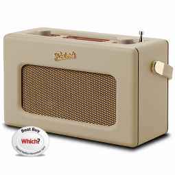 Roberts Revival RD70 DAB+/FM Radio with Bluetooth & Alarm - Pastel Cream