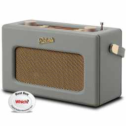 Roberts Revival RD70 DAB+/FM Radio with Bluetooth & Alarm - Dove Grey