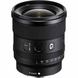 Sony FE 20mm F1.8 G | E-Mount Wide Lens