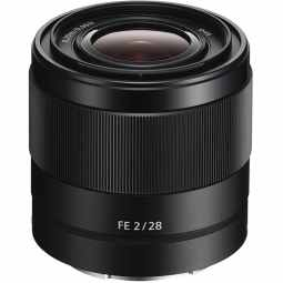 Sony FE 28 mm F2 E-Mount Wide Angle Lens