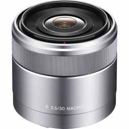Sony E 30mm F3.5 E-Mount Macro Lens