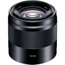 Sony E 50mm F1.8 OSS E-Mount Prime Lens (Black)